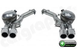 """Echappement sport """"Active Sound System """" CarGraphic pour Audi A4 3,0 TDI"""
