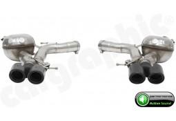 """Echappement sport look M5  """"Active Sound System """" CarGraphic pour Bmw Série 5 525d / 530d / 535d + X-drive (F10/F11)"""