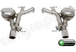 """Echappement sport """"Active Sound System """" CarGraphic pour Bmw Série 5 525d / 530d + X-drive 6 Cylindres (F10/F11)"""