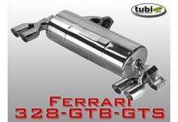 Echappement sport Inox Tubi Style pour Ferrari 328 Catalysée / Mondial 3,2