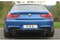 Echappement sport FOX 4 sorties pour BMW Série 6  640i (F12/F13) Pack M