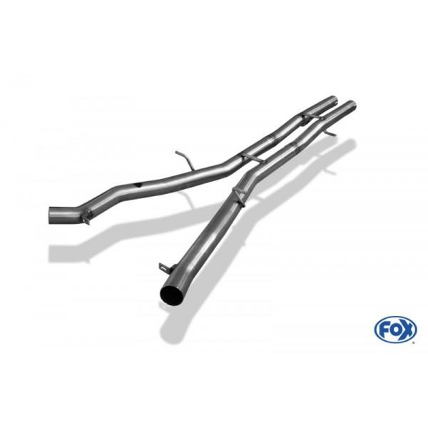 Tube intermédiaire sport FOX pour BMW Série 6 645i / 650i (E63/E64)