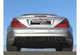 Diffuseur arrière en carbone Avalange PIECHA pour Mercedes SL R230 Pack AMG ou 55 / 65 AMG (2001-03/2012)