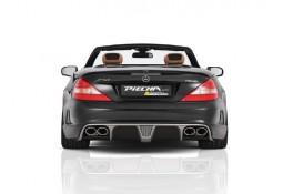 Pare-chocs arrière Avalange RS-R PIECHA pour Mercedes SL R230 (2001-03/2012)
