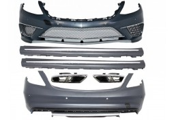 Kit carrosserie look S65 AMG pour Mercedes Classe S W222 L (2013-)