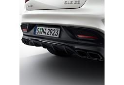 Diffuseur arrière + embouts échappements GLE Coupé 63 AMG BLACK pour Mercedes GLE Coupé C292 Pack AMG