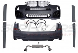 Kit carrosserie look Pack M pour Bmw X3 F25 (2014-)