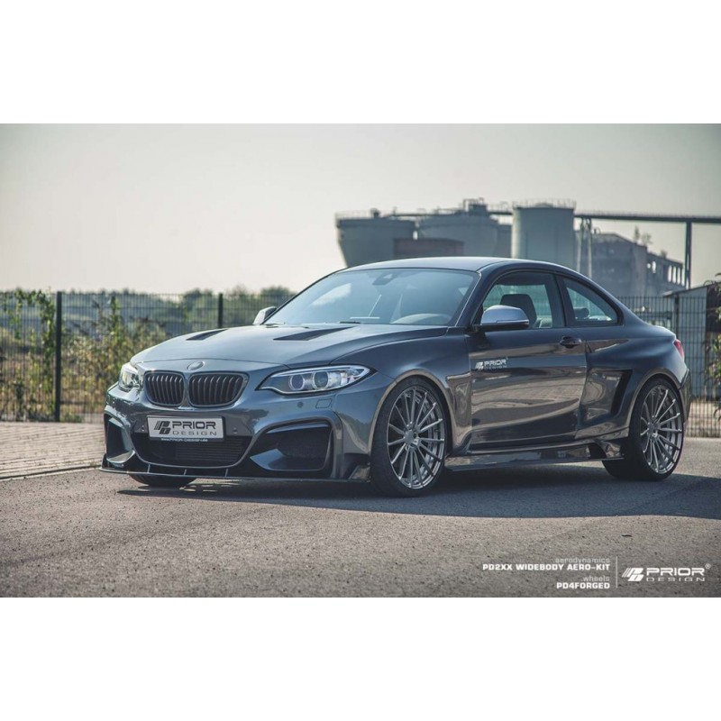 kit carrosserie prior design pd2xx widebody pour bmw s rie 2 coup f22. Black Bedroom Furniture Sets. Home Design Ideas
