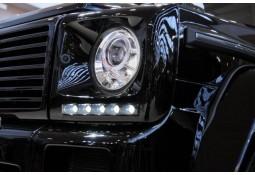 Entourages de feux avants avec feux de jour LED BRABUS pour Mercedes Classe G (W463)