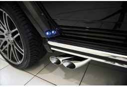 Echappement BRABUS Mercedes Classe G63 AMG  / G500 / G500 4X4 2(W463) -Silencieux à valves