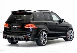 Becquet de Toit BRABUS en Carbone pour Mercedes GLE (W166)