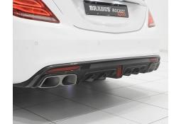 Echappement BRABUS Mercedes Classe S63 S65 AMG (V/W222)(-06/2017) -Ligne Cat-Back à Valves + Diffuseur