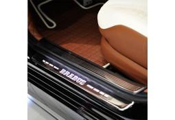 Seuils de portes lumineux en carbone BRABUS pour Mercedes AMG GT C190