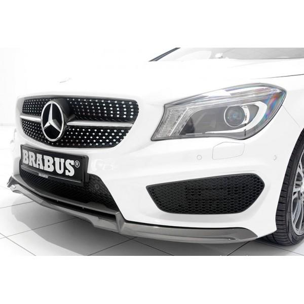 Lame de spoiler avant BRABUS pour Mercedes Classe CLA Pack AMG & 45 AMG (C/X117) (-06/2016)