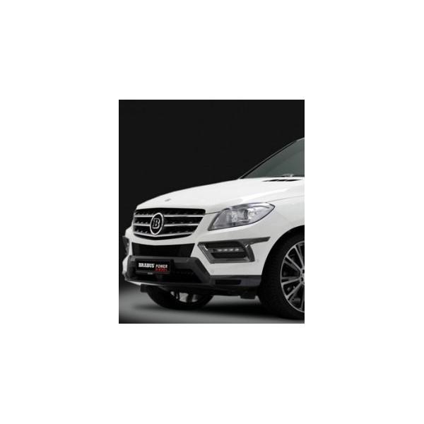 Extensions de pare-chocs avant BRABUS On-Road pour Mercedes ML (W166) sans Pack AMG