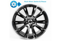 """Pack HIVER jantes et pneus BRABUS Monoblock R en 9,5x19"""" pour Mercedes CLS 63 AMG C218"""