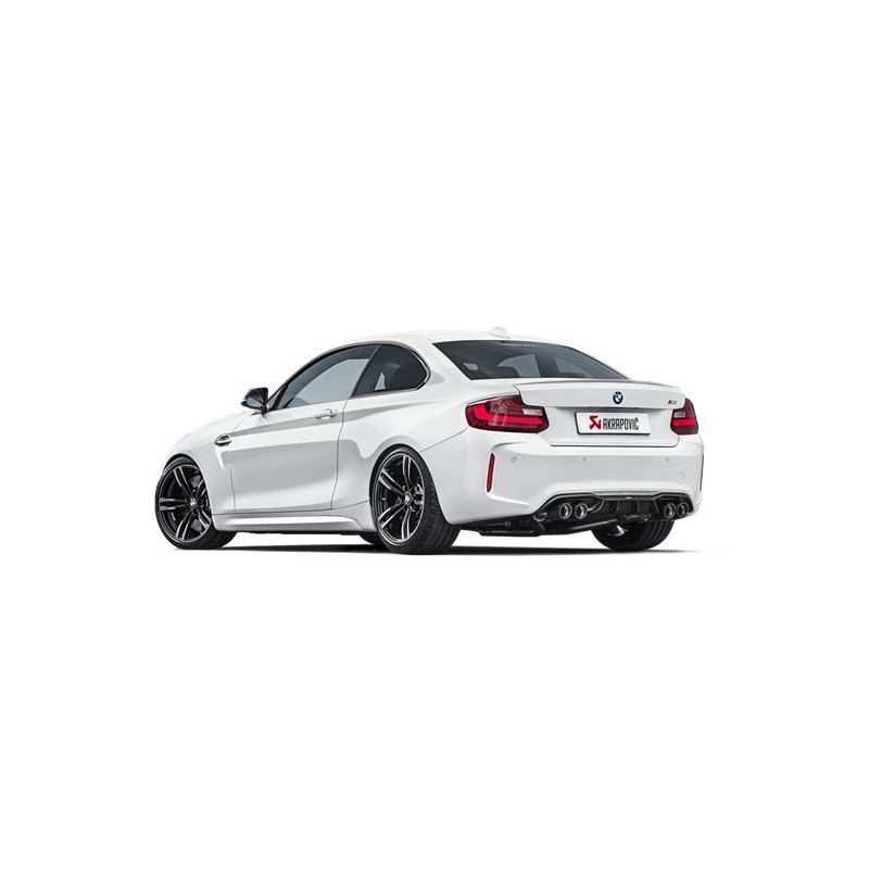 echappement akrapovic bmw m2 f82 cat back valves suprcars. Black Bedroom Furniture Sets. Home Design Ideas