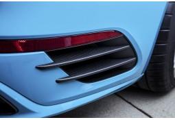 Lamelles latérales arrières Carbone TECHART Porsche 991.2 Turbo / Turbo S (2017-)