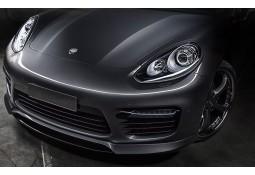 Centre de Spoiler I avant Carbone TECHART pour Porsche Panamera GTS / Turbo / Turbo S (2014-)