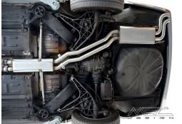 Echappement MEC DESIGN Mercedes Classe S 380 / 420 / 500 / 560 SE SEL SEC (W126) v