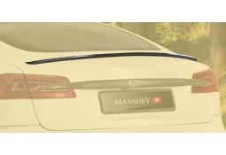 Becquet de coffre carbone MANSORY pour Tesla Model S