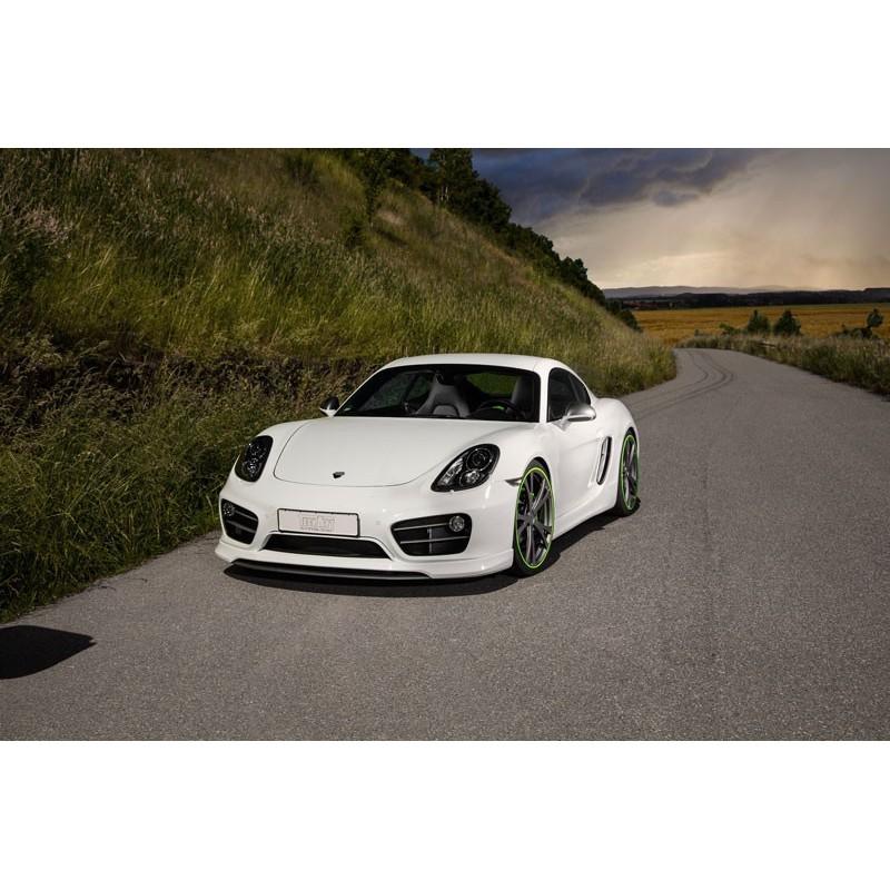 2012 Porsche Cayman Camshaft: Spoiler Porsche Cayman TECHART: Distributeur Officiel France