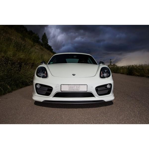 Spoiler avant TECHART Porsche Cayman 981 (2012-)