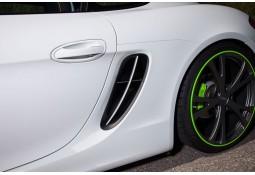 Barres pour prises d'air latérale TECHART Porsche Cayman / Boxster 981 (2012-)