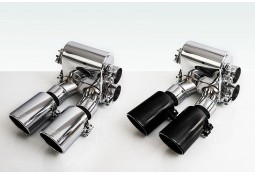 Echappement TECHART  Porsche Cayman S / Boxster S 981 (2012-) -Silencieux Racing