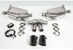 Echappement TECHART  Porsche Cayman / Boxster 981 (2012-) -Silencieux à valves