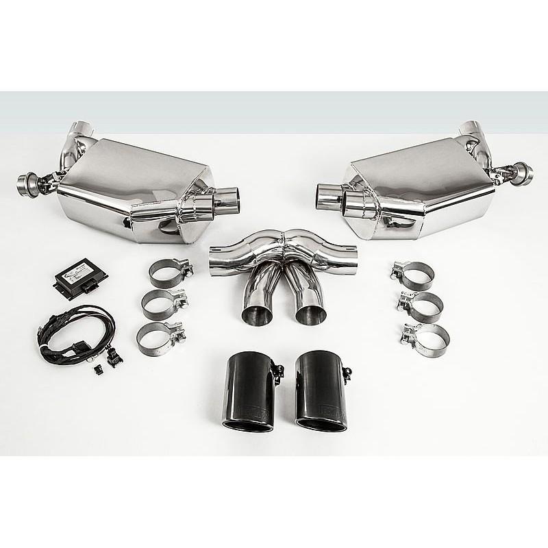 2012 Porsche Cayman Camshaft: Echappement TECHART Cayman Boxster 981 Silencieux à Valves