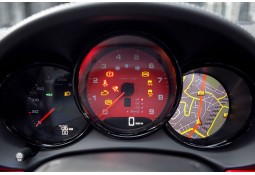 Fonds de compteurs TECHART Porsche Cayman / Boxster 981 (2012-)