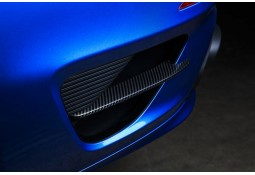Lamelles latérales arrières Carbone TECHART Porsche 991.1 Turbo / Turbo S (2012-2016)