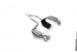Ligne d'échappement inox Cat-Back ARMYTRIX à valves pour Mercedes Classe C 63 AMG (W204)