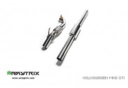 Downpipe + Suppression Catalyseur ARMYTRIX VW Golf 6 GTI (2008-2013)