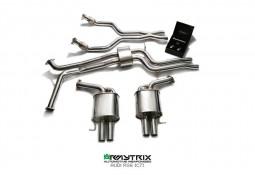 Ligne d'échappement sport Cat-Back inox ARMYTRIX à valves pour Audi RS6 (C7) (2013-)