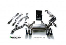 Ligne d'échappement Cat-Back inox ARMYTRIX à valves pour BMW M3 (F80) (2014-)