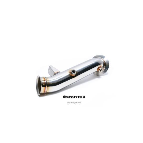 Descente de turbo + suppression de catalyseurs ARMYTRIX à valves pour BMW M135i (F20/F21) (2012-2015)