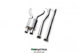 Y-pipe sport inox ARMYTRIX pour Bentley Continental GT / GTC (2011-)