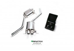 Silencieux d'échappement sport inox ARMYTRIX à valves pour Bentley Continental GT SPEED (2012-)