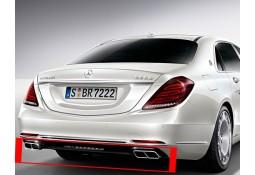 Diffuseur arrière + embouts échappements S63 AMG pour Mercedes Classe S W222 SANS Pack AMG
