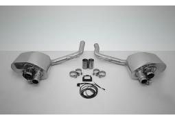 Echappement TECHART Porsche Panamera Turbo / Turbo S (2009-2013) -Silencieux à valves