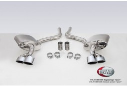 Echappement TECHART  Porsche Panamera S  / 4S (2014-) -Silencieux