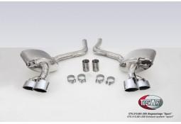 Echappement TECHART Porsche Panamera S / 4S / GTS (2009-2013) -Silencieux Sport