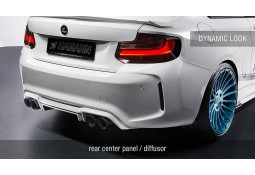"Diffuseur arrière ""DYNAMIC"" HAMANN BMW M2 (F87)(2016-)"