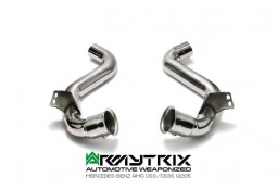Downpipe + Suppression Catalyseurs ARMYTRIX Mercedes Classe C63/S AMG (W/C/S205) (2014-)