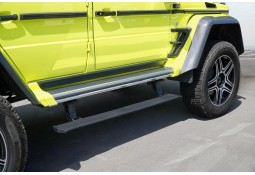 Marche pied électrique + Silencieux échappement à valves MANSORY Mercedes Classe G Long (W463)(2012-)