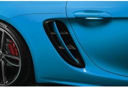 Barres pour prises d'air latérale TECHART pour Porsche Cayman / Boxster 718 / 982 (2016-)