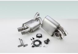 Echappement sport à valves TECHART pour Porsche Macan 2,0 TFSI (95B)(2014-)