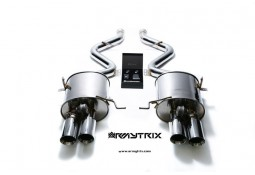 Ligne d'échappement Cat-Back inox ARMYTRIX à valves pour BMW M3 (E90-E92) (2007-2013)